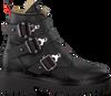 Zwarte NUBIKK Biker boots FAE BUCKLE FUR  - small