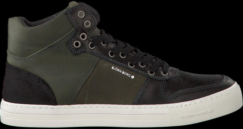 ac92ccf650c Zwarte BJORN BORG Sneakers MONTANA MID PULL M - Omoda.nl