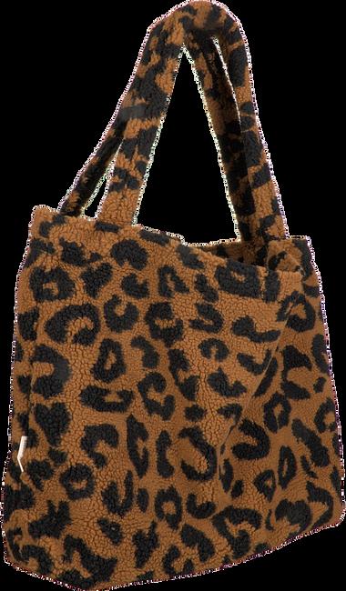 Bruine STUDIO NOOS Shopper TEDDY LEOPARD MOM-BAG  - large