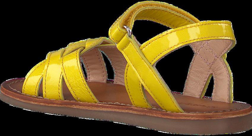 Gele APPLES & PEARS Sandalen FANNY  - larger