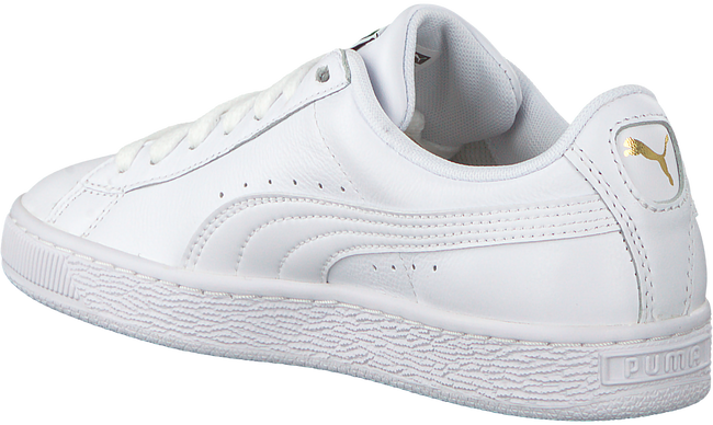 Witte PUMA Sneakers BASKET CLASSIC LFS - large