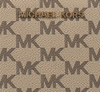 Beige MICHAEL KORS Portemonnee LG FLAT MF PHONE CASE - small