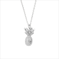 Zilveren ATLITW STUDIO Ketting SOUVENIR NECKLACE PINEAPPLE - medium