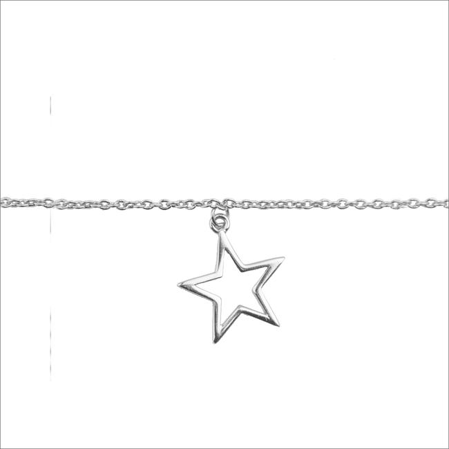 Zilveren ALLTHELUCKINTHEWORLD Armband SOUVENIR BRACELET STAR - large