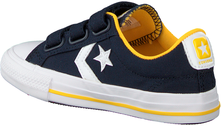 Blauwe CONVERSE Lage sneakers STAR PLAYER 3V OX KIDS  - larger