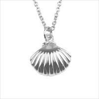 Zilveren ATLITW STUDIO Ketting SOUVENIR NECKLACE SEA SHELL - medium
