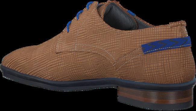 Cognac FLORIS VAN BOMMEL Nette schoenen 14310  - large