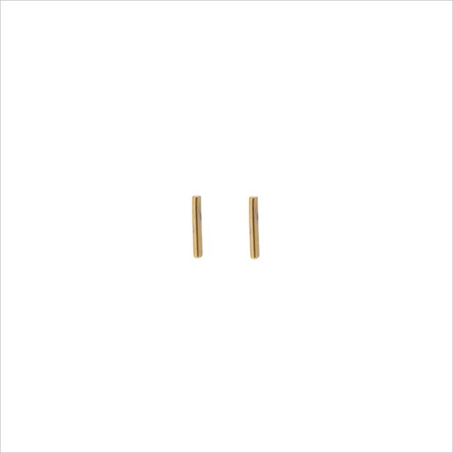 Gouden ATLITW STUDIO Oorbellen PETITE EARRINGS MINI STRIP - large