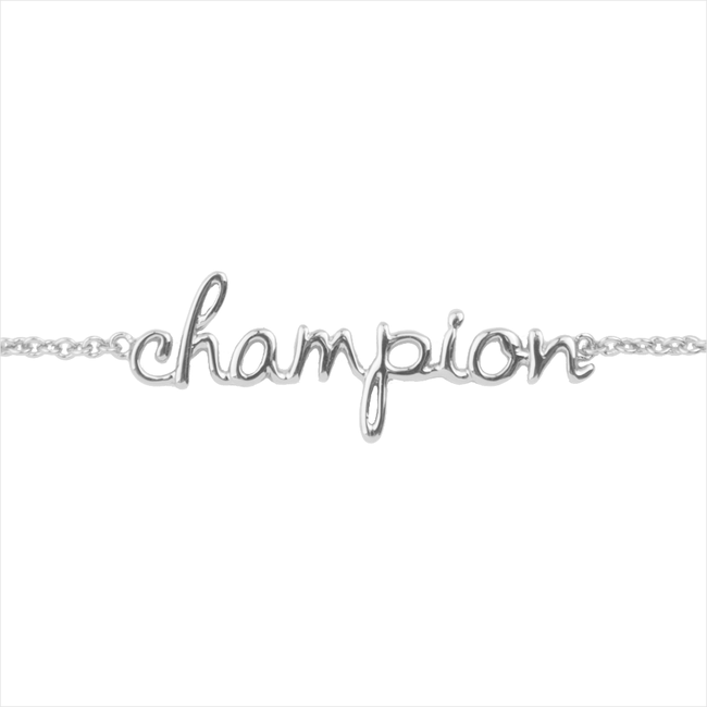 Zilveren ALLTHELUCKINTHEWORLD Armband URBAN BRACELET CHAMPION - large
