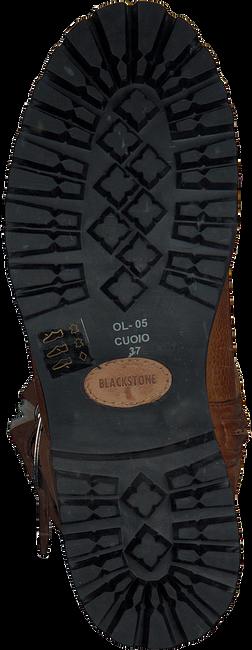 Cognac BLACKSTONE Biker boots OL05  - large