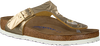 Gouden BIRKENSTOCK PAPILLIO Slippers GIZEH SPECTRAL  - small