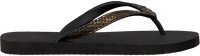 Zwarte UZURII Slippers PYTHON - medium