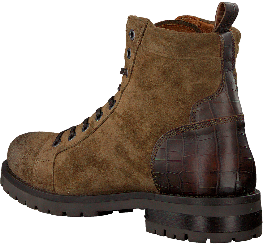 Taupe GROTESQUE Veterboots PIOLETE 3  - larger
