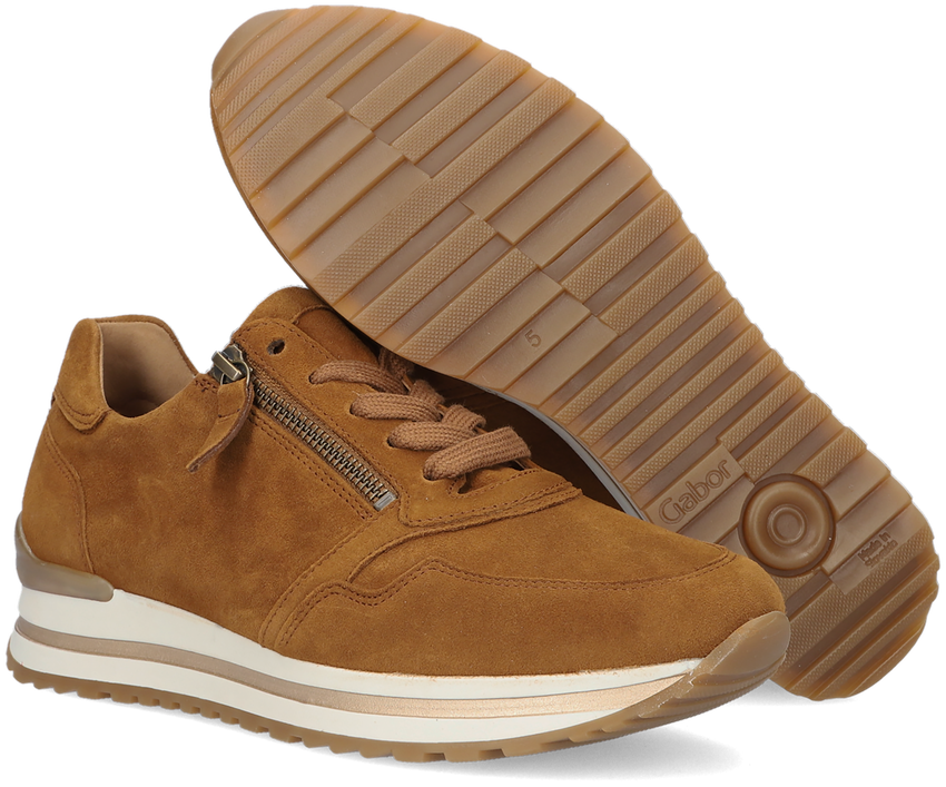 Cognac GABOR Lage sneakers 528  - larger