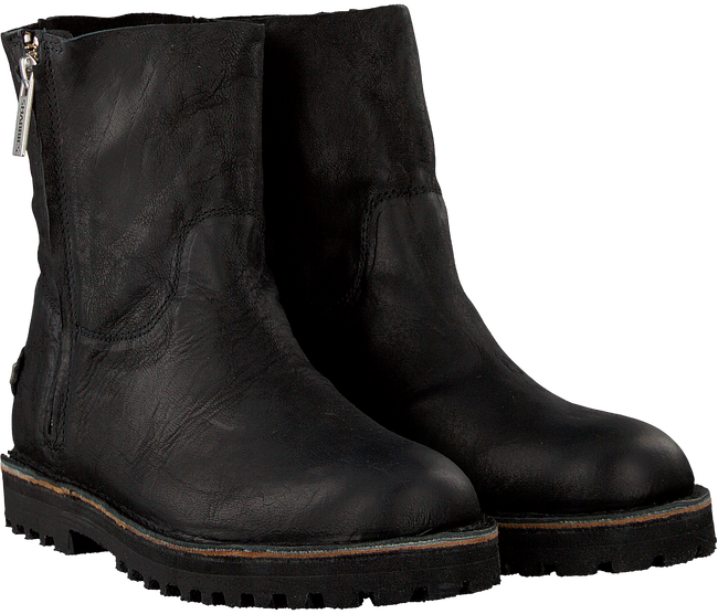 Zwarte SHABBIES Enkelboots 181020149 - large