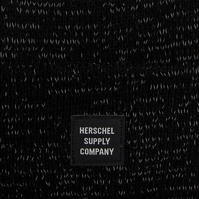 Zwarte HERSCHEL  Muts REFLECTIVE ABBOTT - large