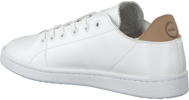 Witte WODEN Sneakers JANE LEATHER  - large
