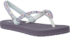 Paarse REEF Slippers LITTLE STARGAZER  - small