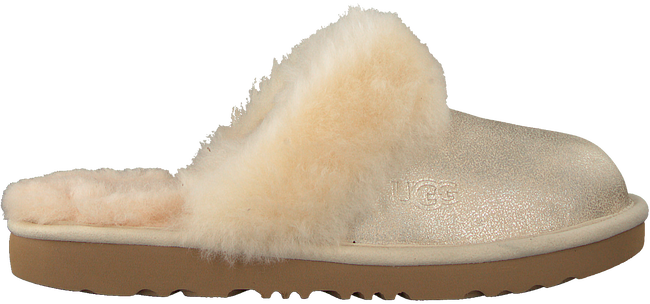 Beige UGG Pantoffels COZY II K  - large