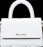 Witte TOMMY HILFIGER Handtas MODERN BAR BAG STRAP  - medium