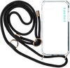 Zwarte KASCHA-C Telefoonkoord PHONECORD IPHONE X/XS  - small