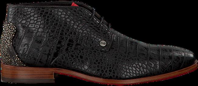 Zwarte REHAB Nette schoenen GREG CROCO  - large