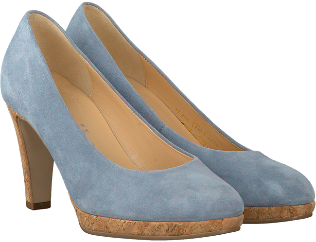 Blauwe GABOR Pumps 270.1 - large