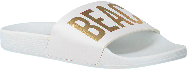 Witte THE WHITE BRAND Slippers BEACH PLEASE  - large