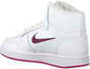 Witte NIKE Sneakers NIKE EBERNON MID WMNS - small