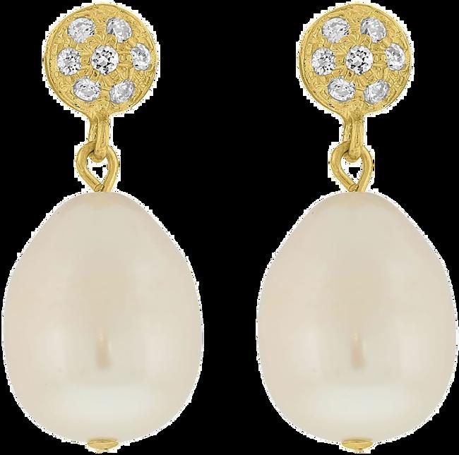 Gouden JEWELLERY BY SOPHIE Oorbellen EARRINGS QUEEN - large