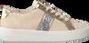 Beige MICHAEL KORS Sneakers POPPY STRIPE LACE UP  - small