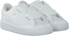 Witte PUMA Sneakers BASKET HEART PATENT KIDS  - small