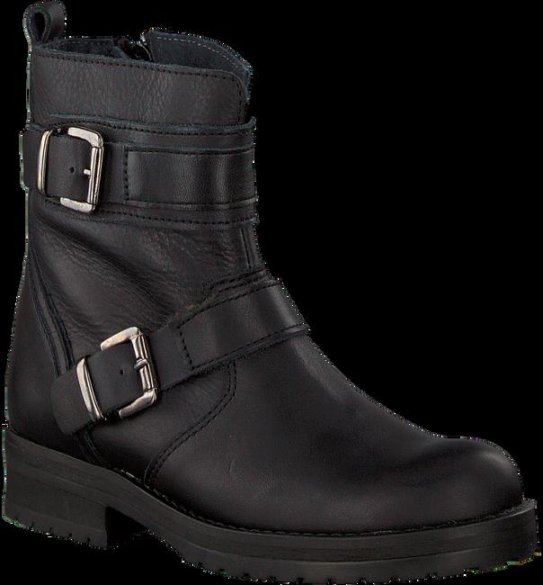 Zwarte HIP Biker boots H1848 - large