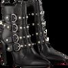 Zwarte BRONX Enkellaarsjes 33995  - small