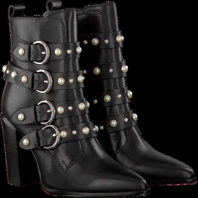Zwarte BRONX Enkellaarsjes 33995  - large