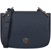Blauwe TOMMY HILFIGER Schoudertas TH CORE SADDLE BAG - small