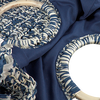 Blauwe BECKSONDERGAARD Handtas MIX FALKA BAG  - small
