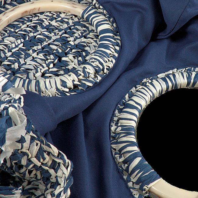 Blauwe BECKSONDERGAARD Handtas MIX FALKA BAG  - large