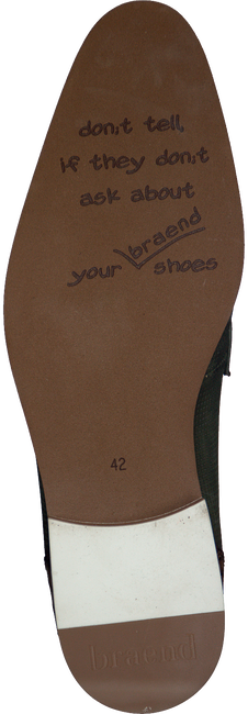 Groene BRAEND Nette schoenen 15113  - large