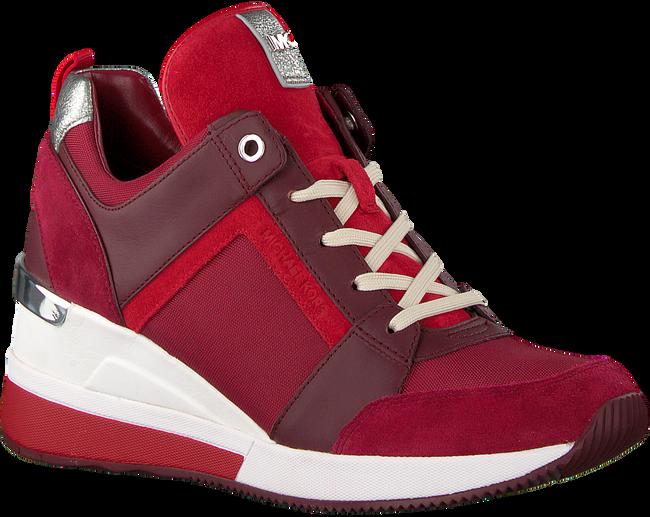 Rode MICHAEL KORS Sneakers GEORGIE TRAINER - large