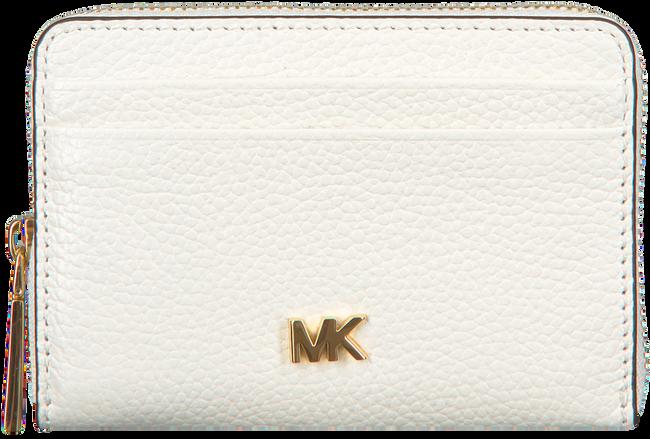 Witte MICHAEL KORS Portemonnee MONEY PIECES ZA COIN CARD CASE  - large
