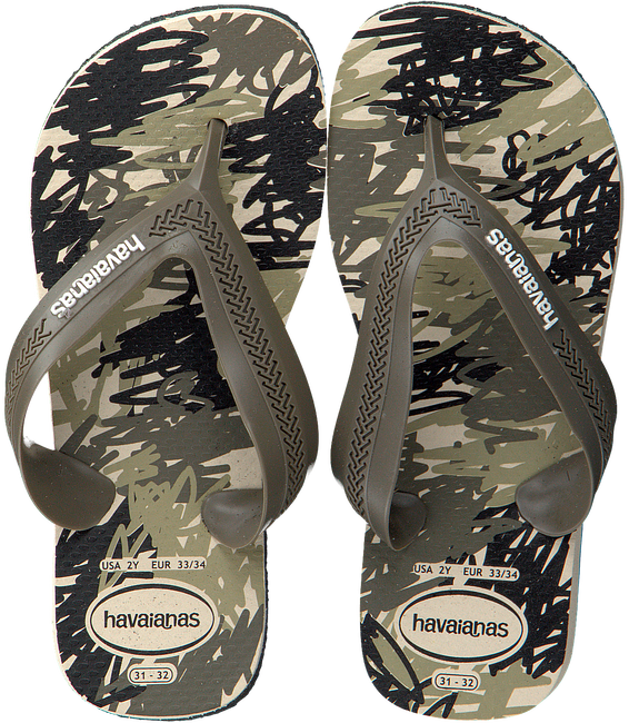 Groene HAVAIANAS Slippers KIDS MAX TREND  - large