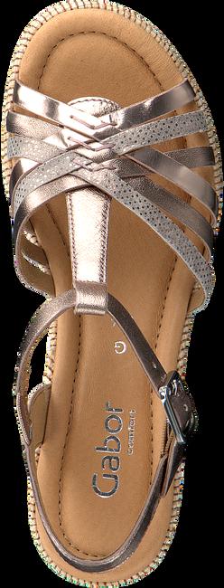 Gouden GABOR Sandalen 736 - large