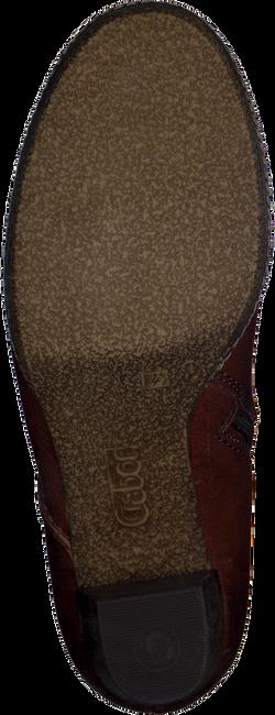 Bruine GABOR Enkellaarsjes 870  - large