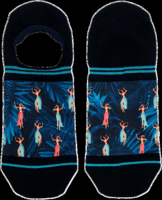 Blauwe XPOOOS Sokken HULA HULA INVISIBLE - large