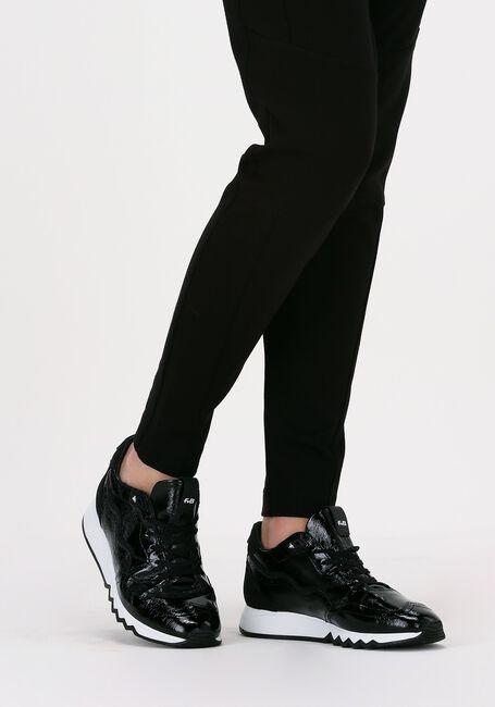 Zwarte FLORIS VAN BOMMEL Lage sneakers 85287  - large
