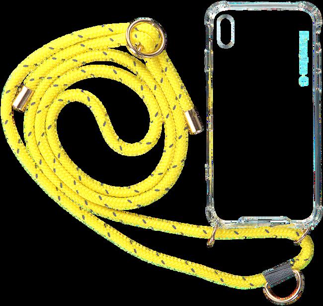 Gele KASCHA-C Telefoonkoord PHONECORD IPHONE X/XS  - large