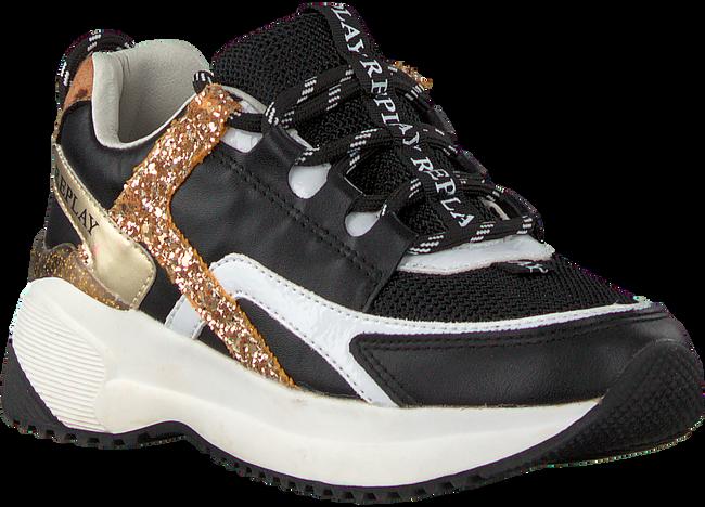 Zwarte REPLAY Sneakers KUMI  - large