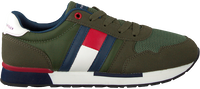 Groene TOMMY HILFIGER Lage sneakers LOW CUT LACE-UP T3B4-30482 - medium
