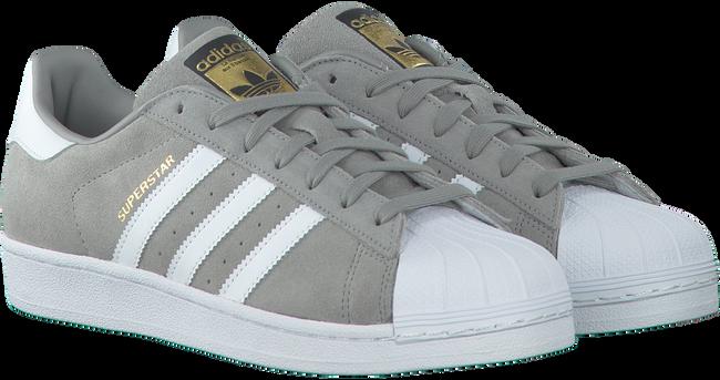 Grijze ADIDAS Sneakers SUPERSTAR HEREN  - large